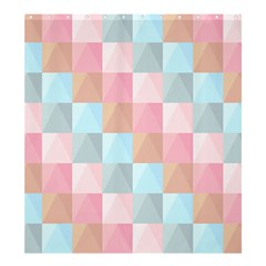 Background Pastel Shower Curtain 66  X 72  (large)