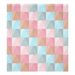 Background Pastel Shower Curtain 66  x 72  (Large)  58.75 x64.8  Curtain
