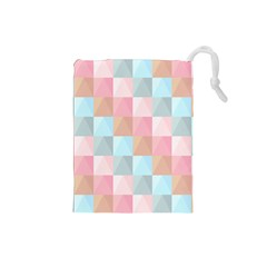Background Pastel Drawstring Pouch (small) by HermanTelo