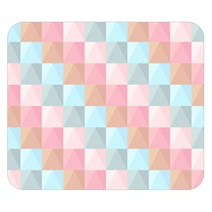 Background Pastel Double Sided Flano Blanket (small)