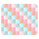 Background Pastel Double Sided Flano Blanket (Small)  50 x40  Blanket Back