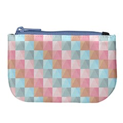 Background Pastel Large Coin Purse by HermanTelo