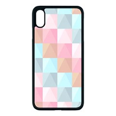 Background Pastel Iphone Xs Max Seamless Case (black)