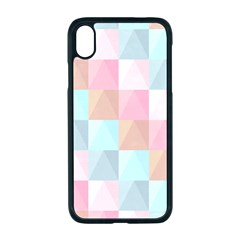 Background Pastel Iphone Xr Seamless Case (black)