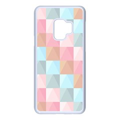 Background Pastel Samsung Galaxy S9 Seamless Case(white)