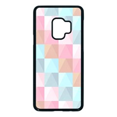 Background Pastel Samsung Galaxy S9 Seamless Case(black)