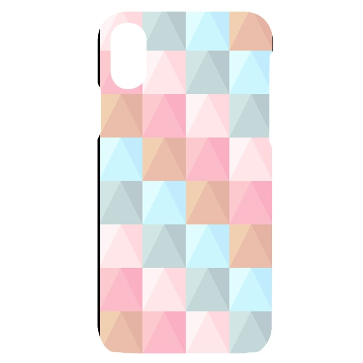 Background Pastel iPhone X/XS Black UV Print Case