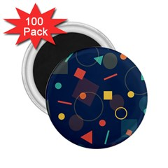 Background Geometric 2 25  Magnets (100 Pack)