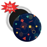 Background Geometric 2.25  Magnets (100 pack)  Front