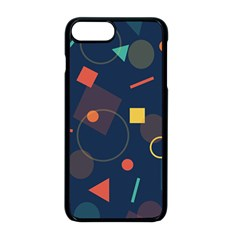 Background Geometric Iphone 8 Plus Seamless Case (black)