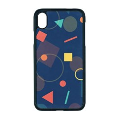 Background Geometric Iphone Xr Seamless Case (black)