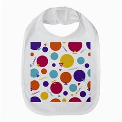 Background Polka Dot Bib