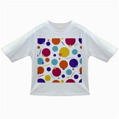 Background Polka Dot Infant/Toddler T-Shirts