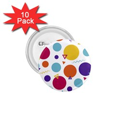 Background Polka Dot 1.75  Buttons (10 pack)