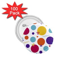 Background Polka Dot 1.75  Buttons (100 pack)
