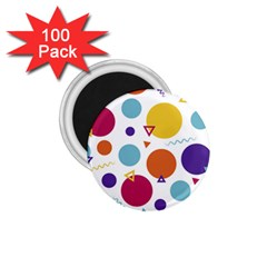 Background Polka Dot 1.75  Magnets (100 pack)