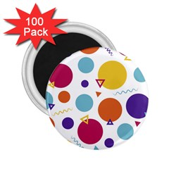 Background Polka Dot 2.25  Magnets (100 pack)