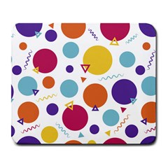 Background Polka Dot Large Mousepads