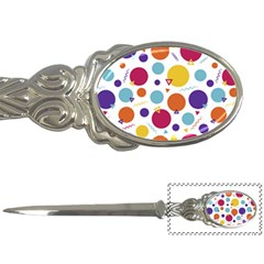 Background Polka Dot Letter Opener