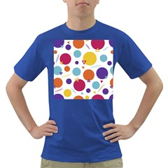 Background Polka Dot Dark T-Shirt