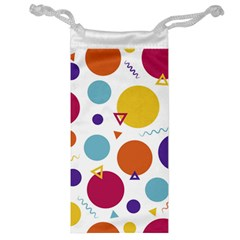 Background Polka Dot Jewelry Bag