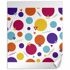 Background Polka Dot Canvas 16  x 20