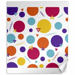 Background Polka Dot Canvas 20  x 24