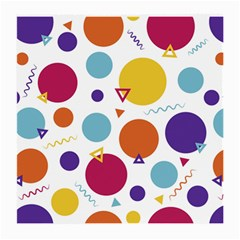 Background Polka Dot Medium Glasses Cloth