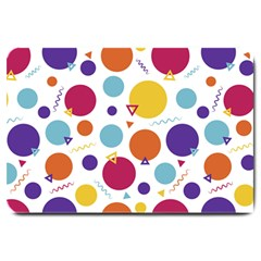 Background Polka Dot Large Doormat
