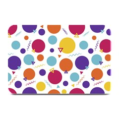 Background Polka Dot Plate Mats