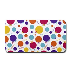 Background Polka Dot Medium Bar Mats