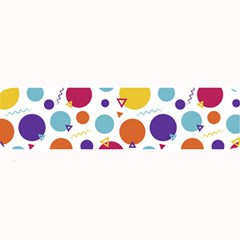 Background Polka Dot Large Bar Mats