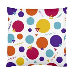 Background Polka Dot Standard Cushion Case (One Side)