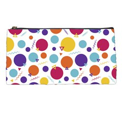 Background Polka Dot Pencil Cases