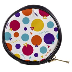 Background Polka Dot Mini Makeup Bag
