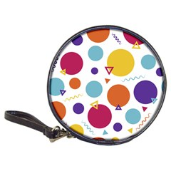 Background Polka Dot Classic 20-CD Wallets