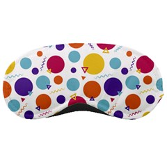 Background Polka Dot Sleeping Mask
