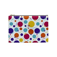 Background Polka Dot Cosmetic Bag (Medium)