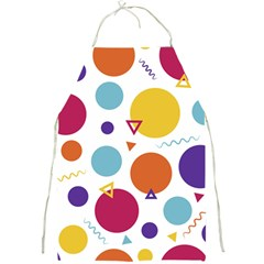 Background Polka Dot Full Print Aprons