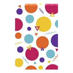 Background Polka Dot Shower Curtain 48  x 72  (Small)