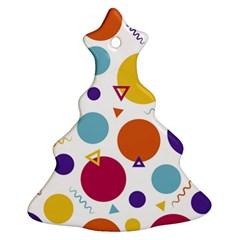 Background Polka Dot Ornament (Christmas Tree)