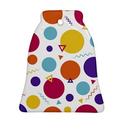 Background Polka Dot Ornament (Bell)