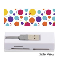 Background Polka Dot Memory Card Reader (Stick)