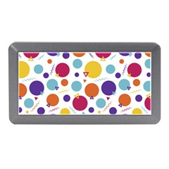 Background Polka Dot Memory Card Reader (Mini)