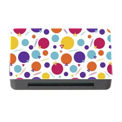Background Polka Dot Memory Card Reader with CF