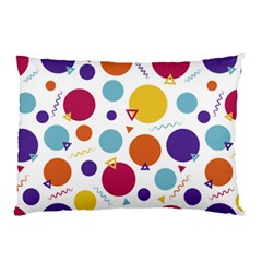 Background Polka Dot Pillow Case (Two Sides)