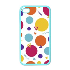 Background Polka Dot iPhone 4 Case (Color)