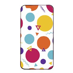 Background Polka Dot iPhone 4/4s Seamless Case (Black)