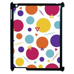 Background Polka Dot Apple iPad 2 Case (Black)