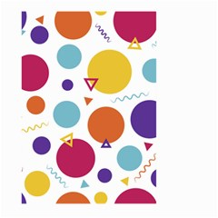 Background Polka Dot Large Garden Flag (Two Sides)